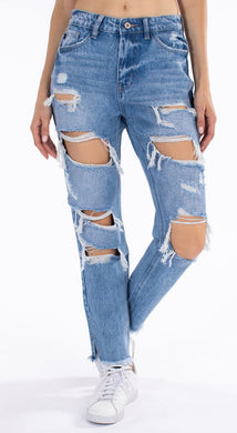 Kancan Harmony Distressed Jeans