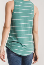 Z Supply Striped Jersey Tank Multiple Colors!