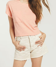 Z Supply Keely Coral Slub Coral