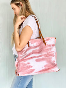Boho Rose Tie Dye Bag