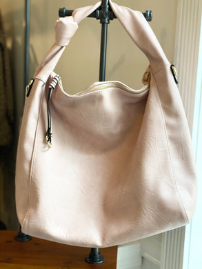 Soft Blush Oversized Purse
