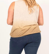 Fabulous Full Size Dusty Ombre Top