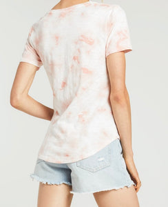 Z Supply Coral Ultimate Tie Dye Tee