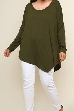 Fabulous Full Size Asymmetrical Top
