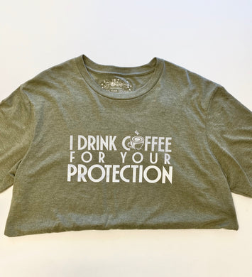 Drink Coffee Graphic Tee