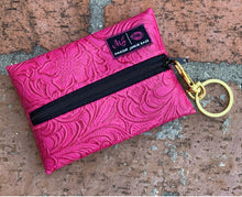 CLICK FOR Micro Makeup Junkie Key Bag Pink Label. More Colors Available.
