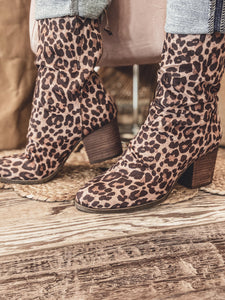 Preston Leopard Booties