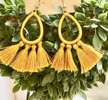 4 Piece Tassel Earrings