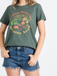 Adventure Awaits Graphic Tee