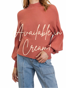 Wilder Cream  Sweater