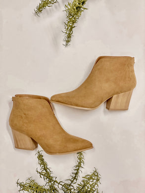 Nava Butterscotch Ankle Boots