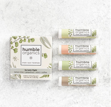 Nourishing Lip Balm Flight