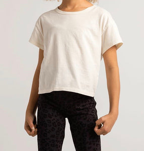 Z Supply Girls Bone Nattie Organic Tee