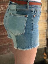 Judy Blue Two Tone Shorts
