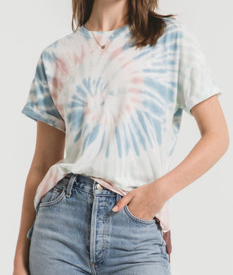 Z Supply Multi Color Tie-Dye Lounge Tee