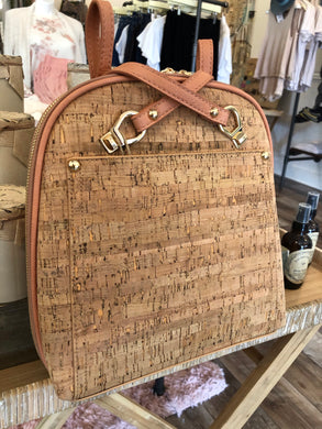Cork Crossover Purse/Backpack Corral