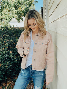 Atlas Twig Denim Pink Jacket