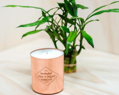 Vim + Vigor Copper Candles