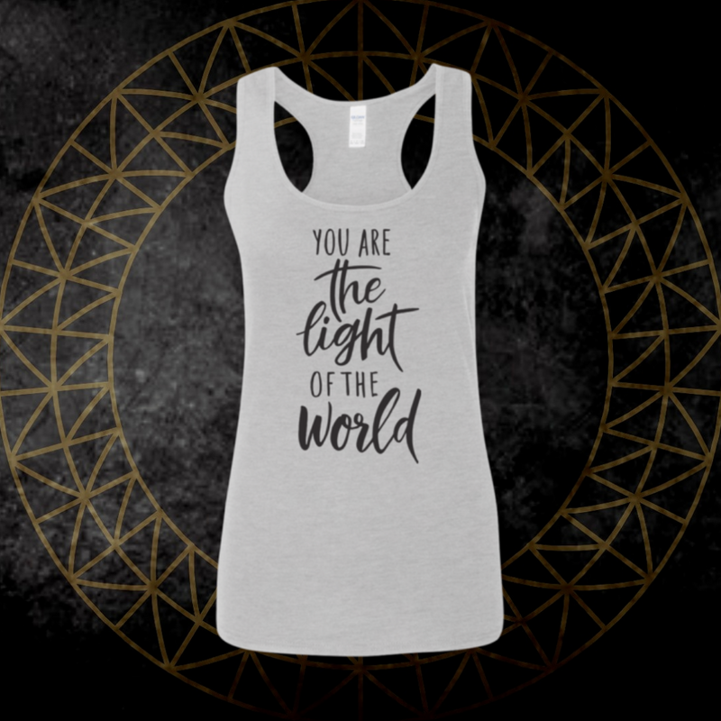 *You Are The Light* Racerback Tank