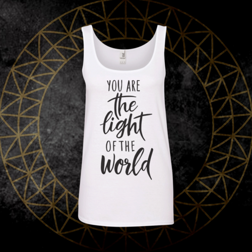 *You Are The Light* Flowy Tank