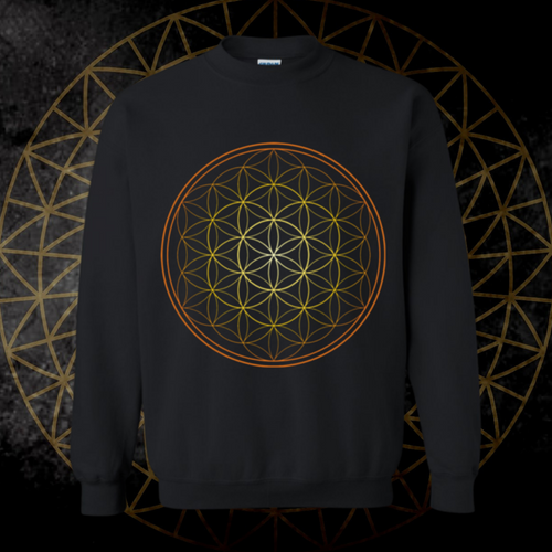*Flower Of life* Pullover Sweatshirt