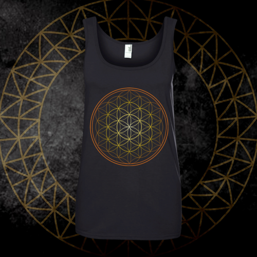 *Flower Of Life* Flowy Tank