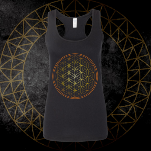 *Flower Of Life* Racerback Tank