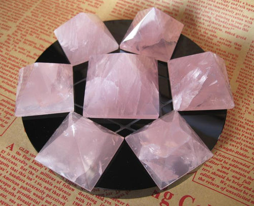 Rose Quartz Pyramid