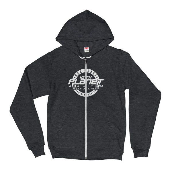 Logo Zip Up Hoodie sweater