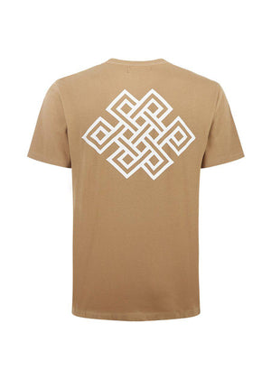 Youth Boys Brown Eternal Knot Graphic T-shirt