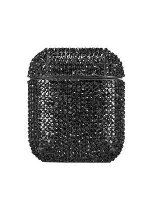 TeenzShop BLACK CRYSTAL AIRPOD CASE