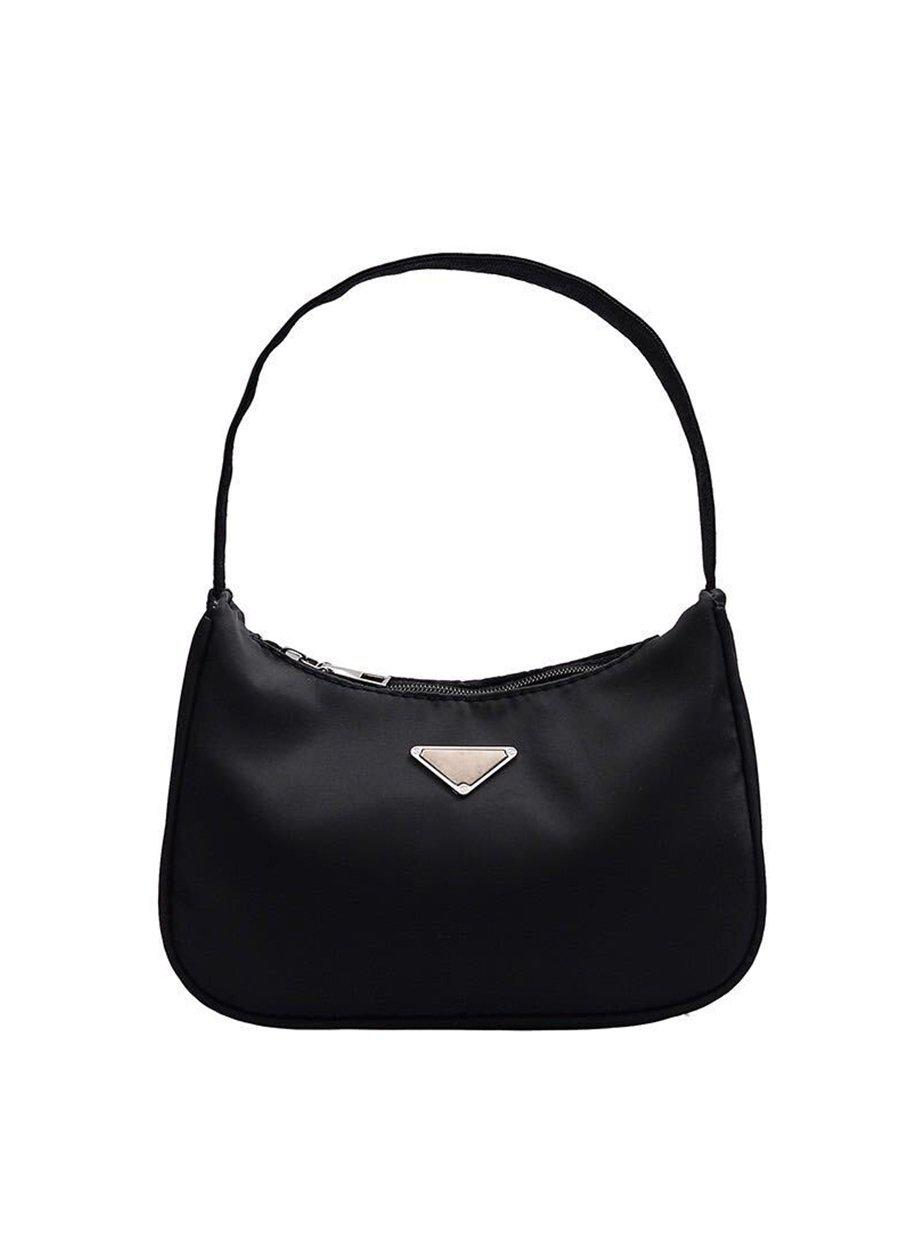 Small Black Nylon 90's Handbag