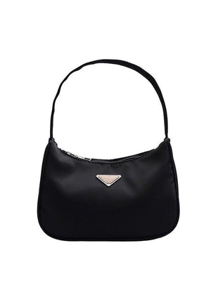 Small Black Nylon 90's Handbag-TeenzShop