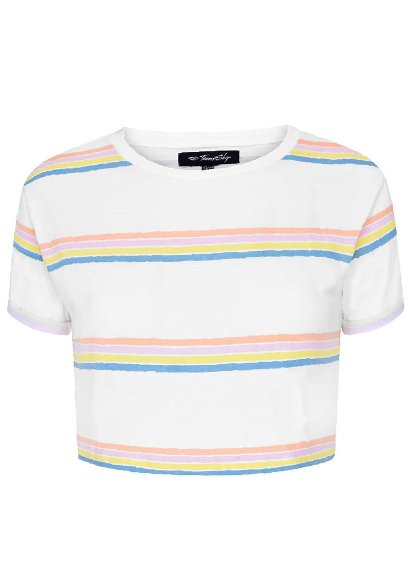 TeenzShop Youth Girls Candy Stripe Cotton T-Shirt