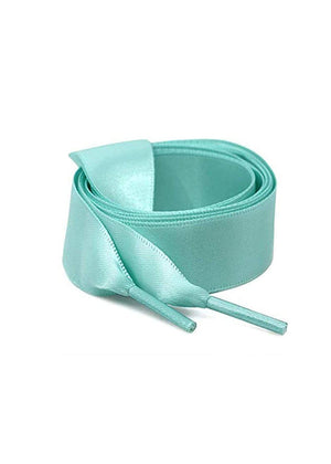 TeenzShop Green Satin ribbon shoelace
