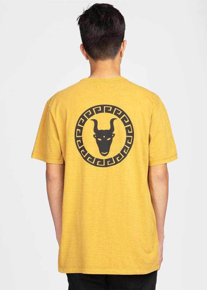 Boys Yellow Graphic Logo T-shirt-TeenzShop