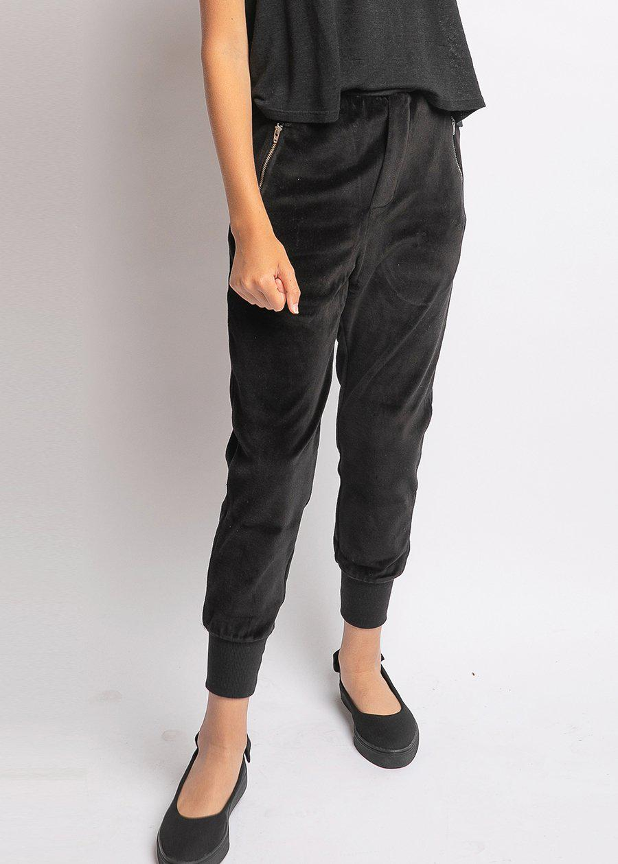 Girls Velour Joggers