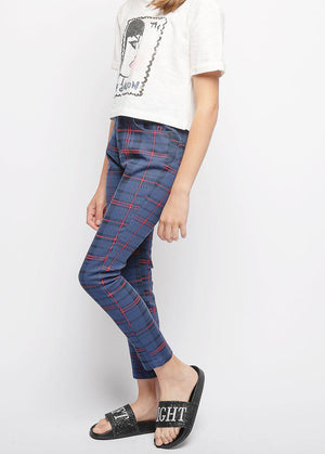 Youth Girls Printed Skinny Jeans