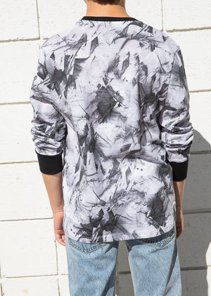 Boys Paint Splatter Long Sleeve T-shirt-TeenzShop
