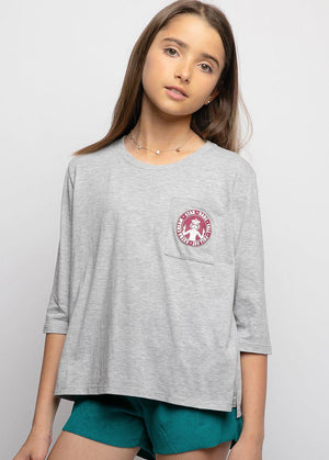 Youth Girls Star Babe Logo T-shirt