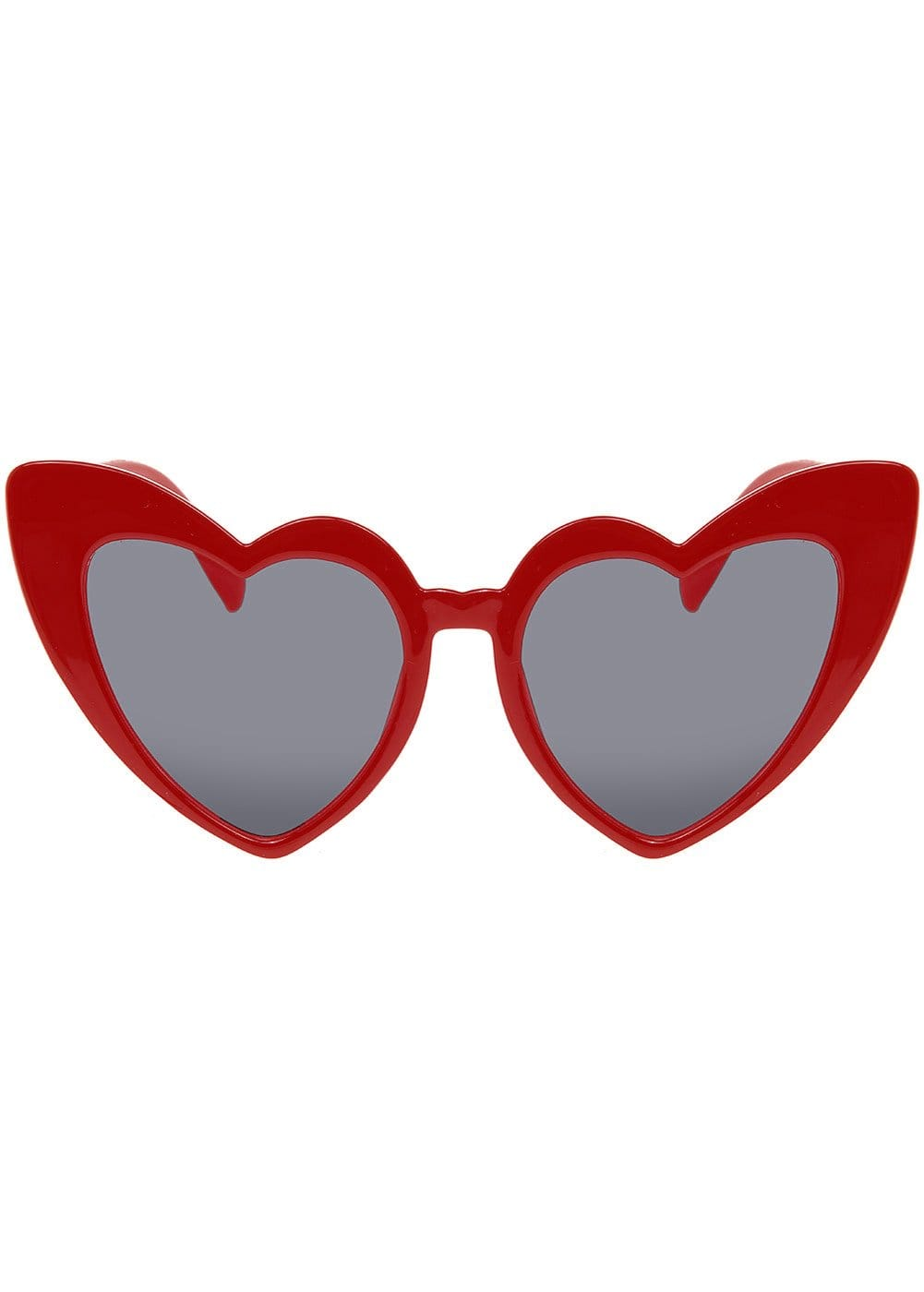 Red Summer Love Sunglasses Front