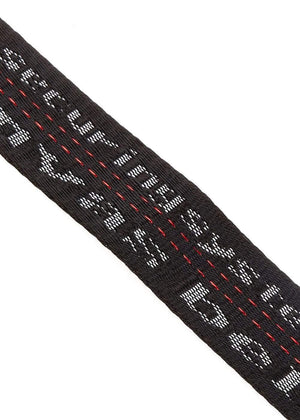 TeenzShop Youth Boys Black D-ring Tape Belt