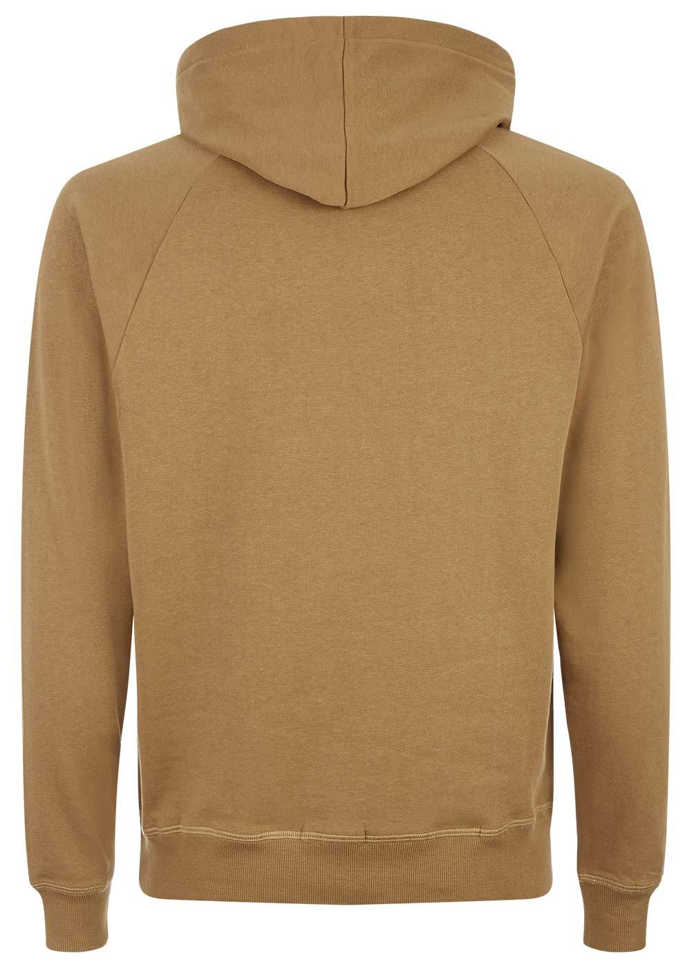 Boys Camel Hoodie With Phone Pocket - Back