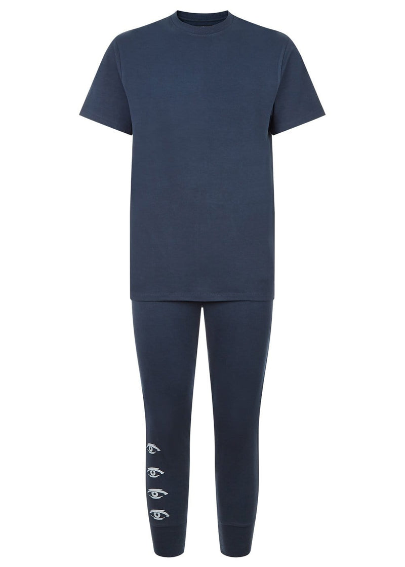 Youth Boys Navy Pyjama Lounge Set