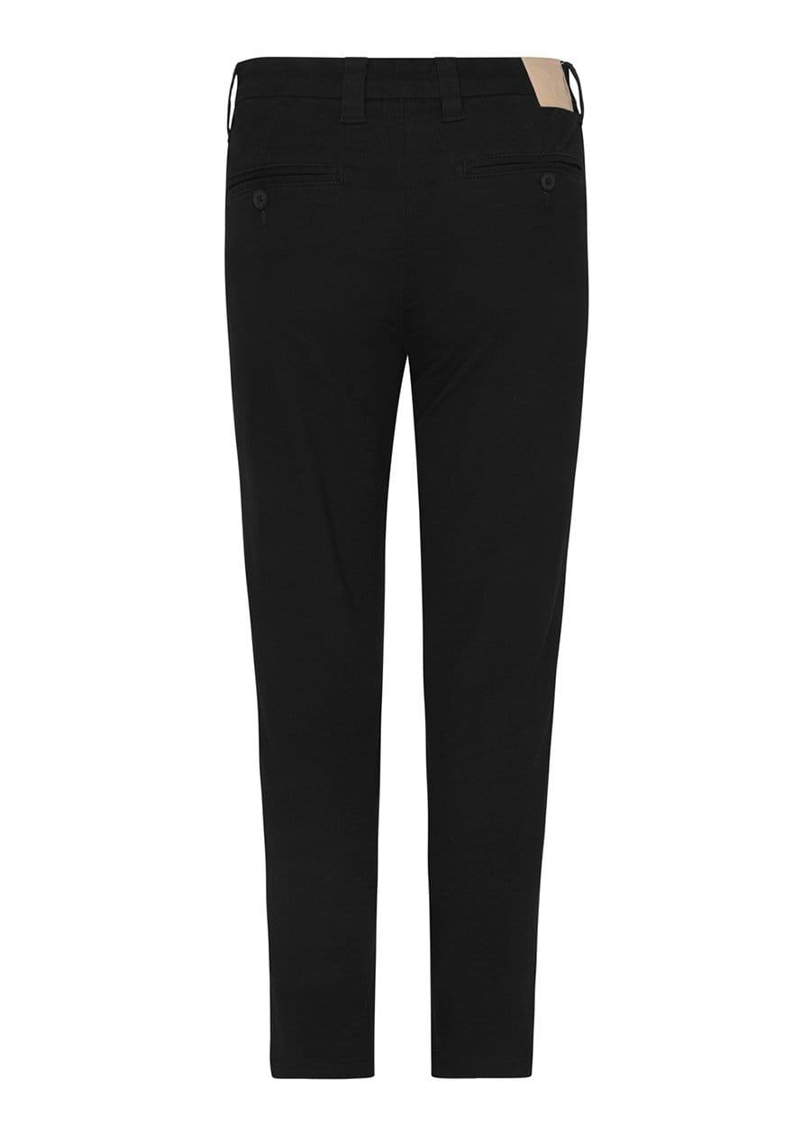 Youth Boys Black Basic Skinny Chinos