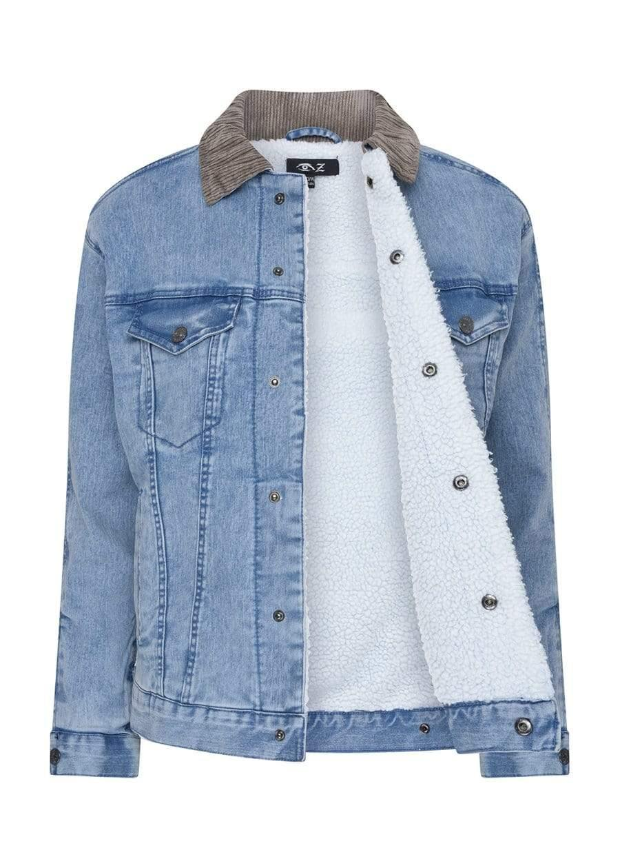 Youth Boys Blue Denim Trucker Jacket