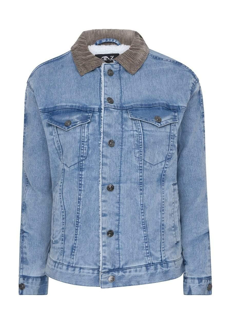 Teenzshop Youth Boys Blue Denim Trucker Jacket