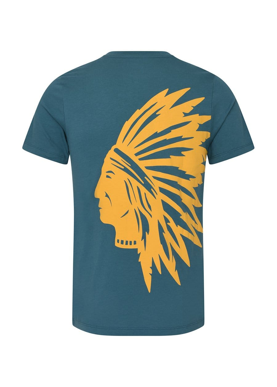 Youth Boys Green Chieftain T-Shirt Back