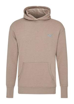 TeenzShop Youth Boys Taupe Embroidered logo Hoodie