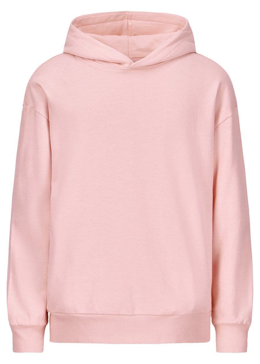 Teenzshop Youth Boys Pink Soft Cotton Oversize Hoodie